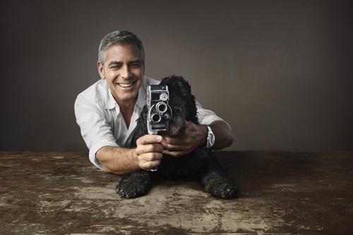 ジョージ・クルーニーと愛犬の広告ビジュアルをオメガが発表_f0039351_17495643.jpg