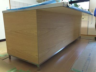 木頭の現場 別注キッチン工事+建具工事_f0053665_2354273.jpg