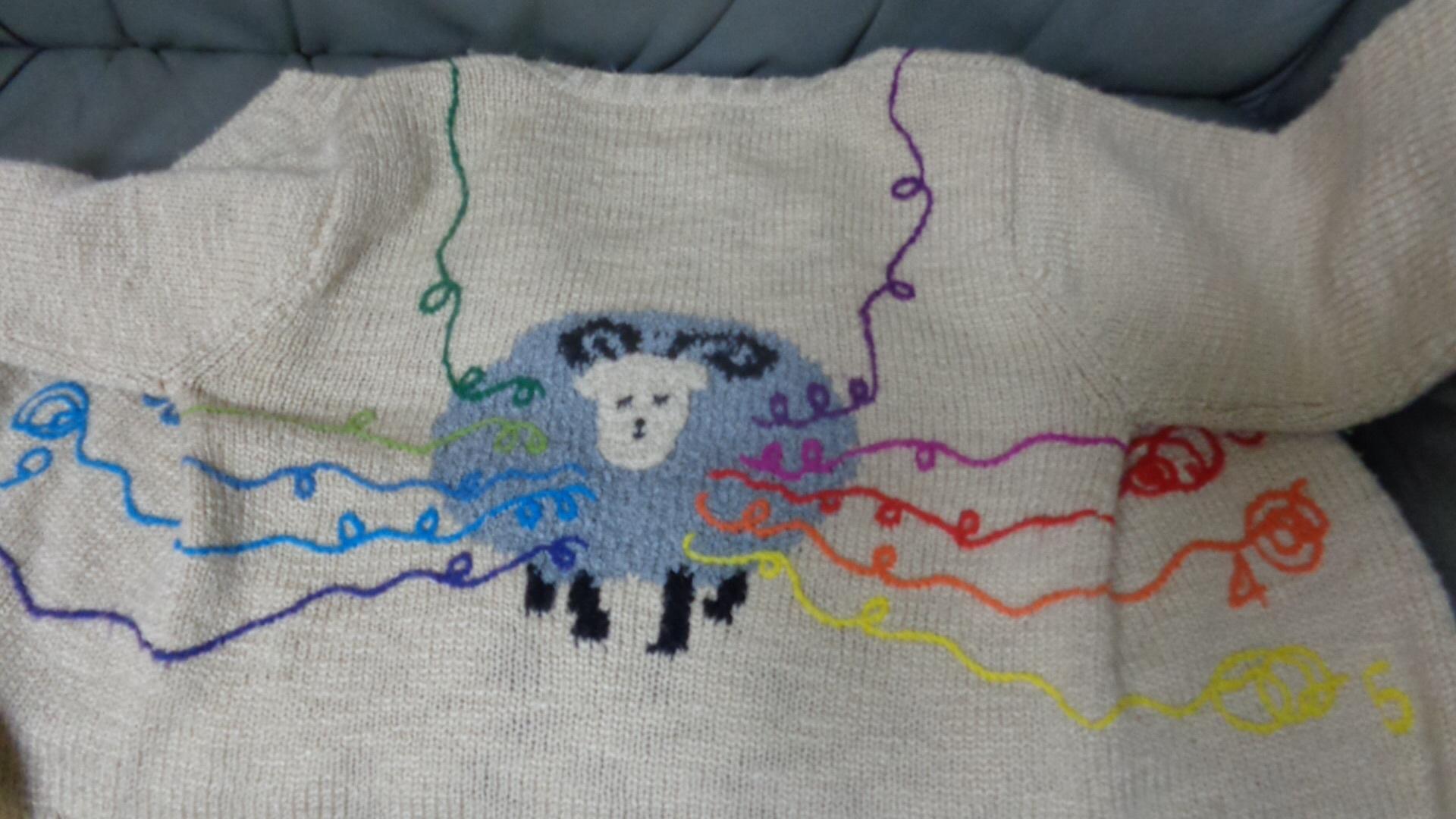 羊のセーター_a0025572_23372142.jpg