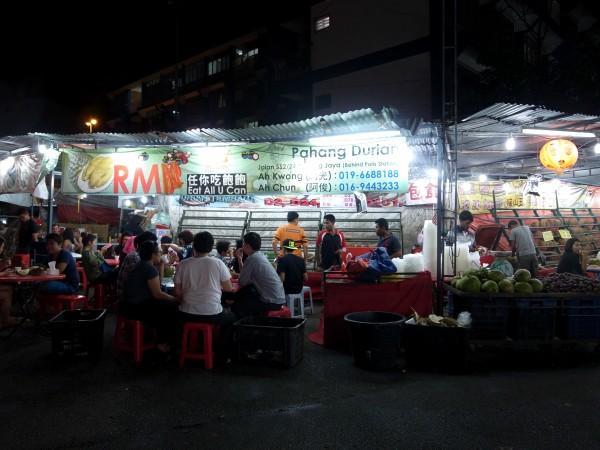 プタリン・ジャヤ SS2のドリアン屋台街と、臭い食べものに関する雑感_e0152073_1103675.jpg
