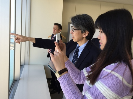 日本大使賞受賞者来日、表敬訪問忙しく、時間順の写真で報告_d0027795_812214.jpg