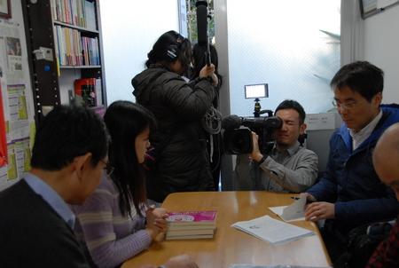 日本大使賞受賞者来日、表敬訪問忙しく、時間順の写真で報告_d0027795_815987.jpg