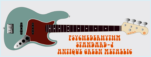 「Antique Green MetallicのStandard-J」を発売します。_e0053731_17161227.jpg