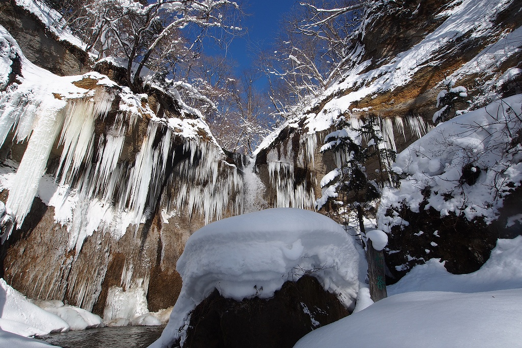 七条大滝、2月4日_f0138096_21294359.jpg