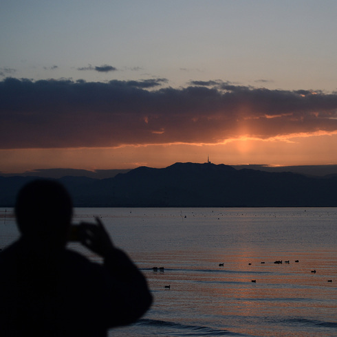 月に一度の日の出と珈琲の会_f0099102_16594761.jpg