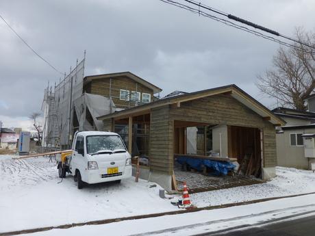 秋田市の現場_e0148212_10132683.jpg
