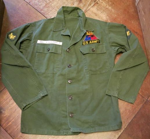 2/7(土)入荷!40'S M-47 U .S ARMY ユーティリティシャツ!_c0144020_18162138.jpg