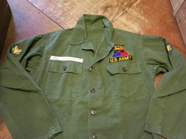 2/7(土)入荷!40'S M-47 U .S ARMY ユーティリティシャツ!_c0144020_18162240.jpg