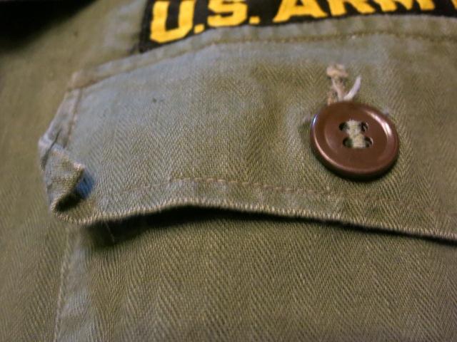 2/7(土)入荷!40'S M-47 U .S ARMY ユーティリティシャツ!_c0144020_18162586.jpg