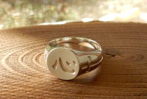 シルバーの指輪 オーダーメイド_d0237570_13194679.jpg