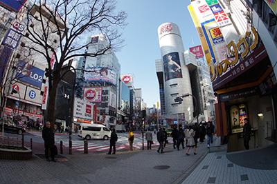 2月6日(金)の渋谷109前交差点_b0056983_12561697.jpg