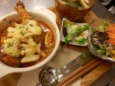 2/6晩ごはん:骨付き鶏もも肉のオーブン煮込み_a0116684_17513493.jpg