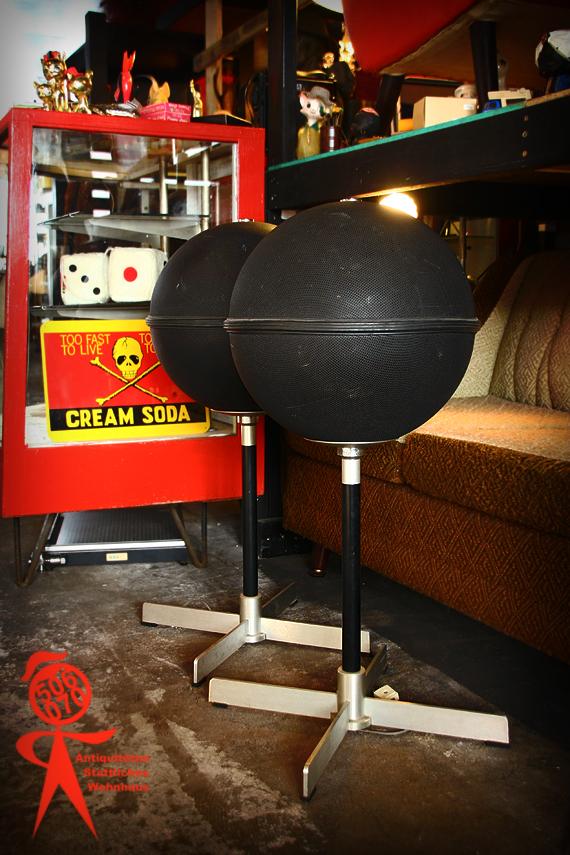 1970s Vintage VICTOR GB-1D 専用スタンド付ボール型スピーカー_e0243096_14403944.jpg