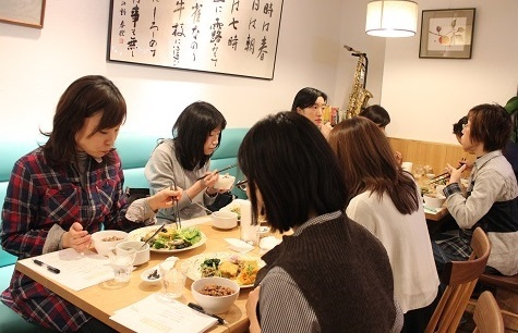 2015年玄米菜食お食事会 in千代田区麹町_a0170699_23060754.jpg