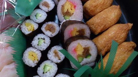 新柳のお寿司。_d0182179_19413180.jpg