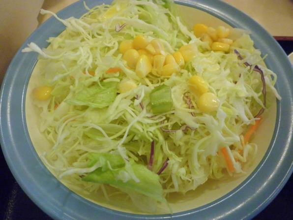 松屋の豚バラ焼肉定食    箕面店_c0118393_1752370.jpg