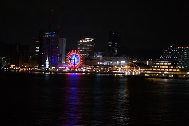 藤田八束:ジャンボフェリーの素敵な旅、高松から神戸へ航海瀬戸の夕日_d0181492_2305213.jpg