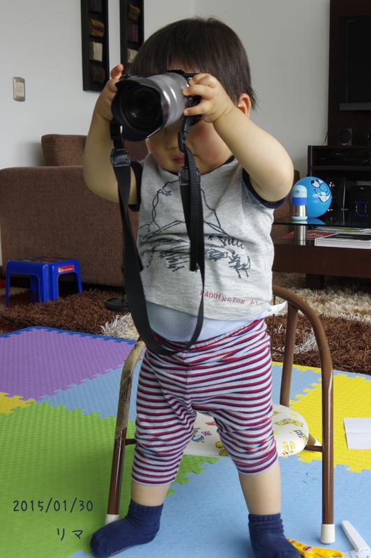将来はプロカメラマン?_b0019313_6145582.jpg