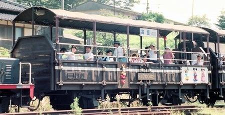 南阿蘇鉄道のトロッコ列車_e0030537_21544470.jpg