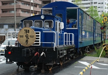 南阿蘇鉄道のトロッコ列車_e0030537_2312193.jpg