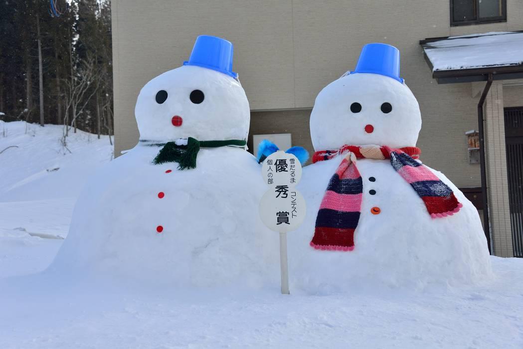 雪だるま(七ヶ宿町宮城県)_b0223668_7551463.jpg