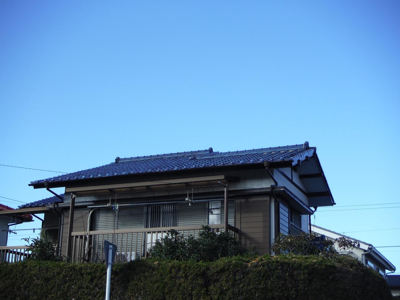屋根瓦 ~ 雨漏りしたんです。_d0165368_15395743.jpg