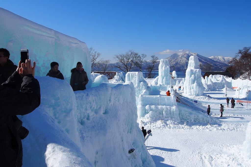 支笏湖氷濤まつり_f0138096_20483942.jpg