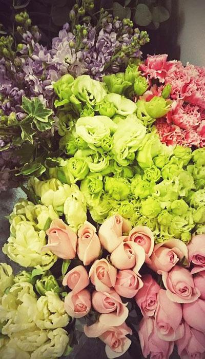 今日の花々と素敵な笑顔* Today\'s flowers & Happy smiles_f0134809_23191816.jpg