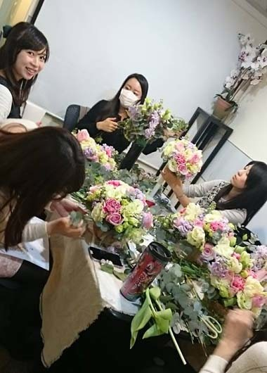 今日の花々と素敵な笑顔* Today\'s flowers & Happy smiles_f0134809_23500591.jpg