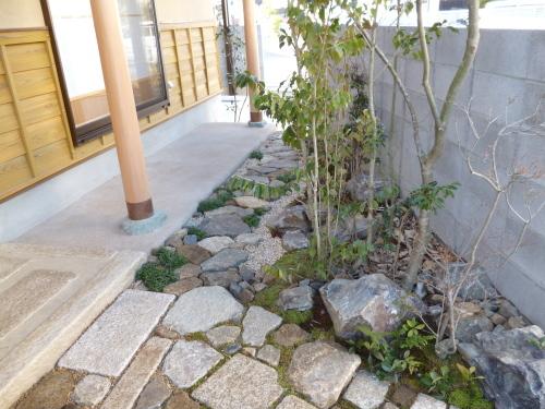 松山市 I様邸 新築工事 外構工事_a0167735_16055121.jpg