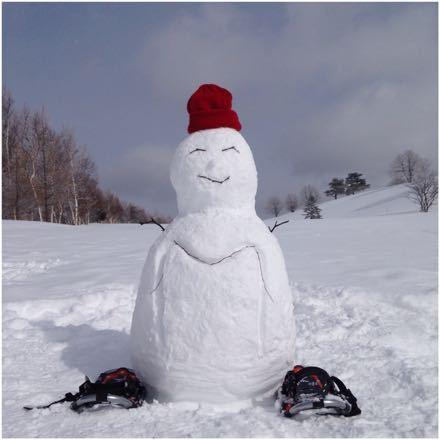 まろんと雪遊び_e0293553_22555117.jpg