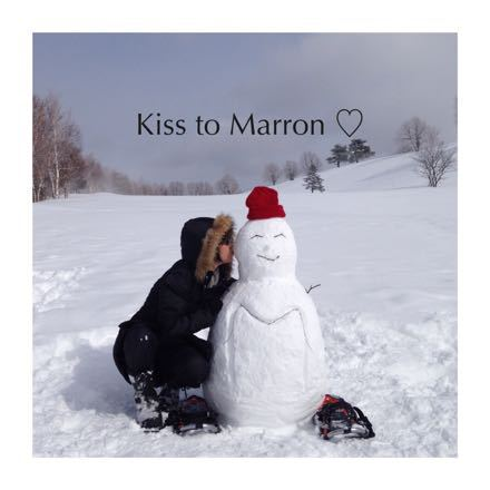 まろんと雪遊び_e0293553_22555237.jpg
