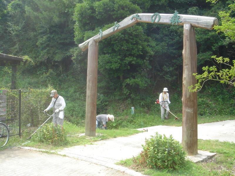 うみべの森の草刈り_c0108460_23402754.jpg