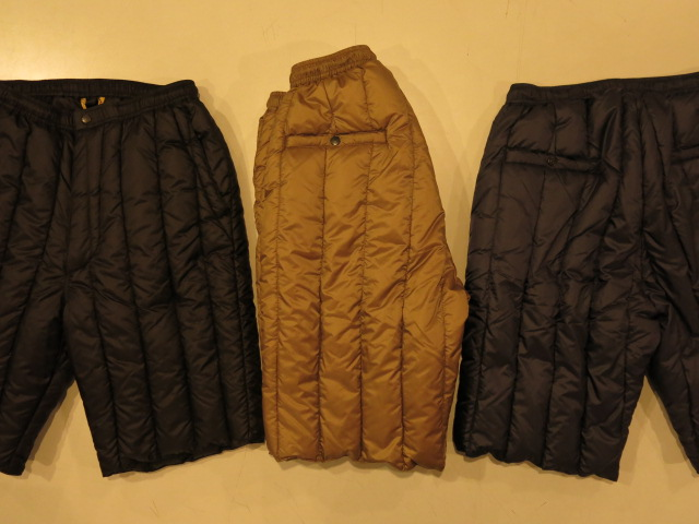 """Rocky Mountain Featherbed SIX MONTH DOWN SHORTS\""ってこんなこと。_c0140560_10381344.jpg"