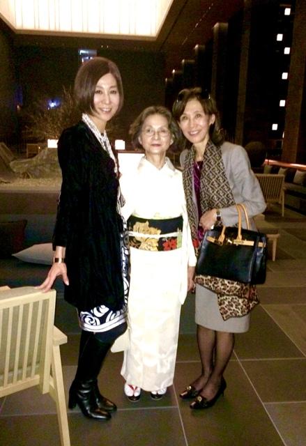 アマン東京・天空レストラン「ザ・レストランbyアマン」で乙女の宴_a0138976_14104011.jpg