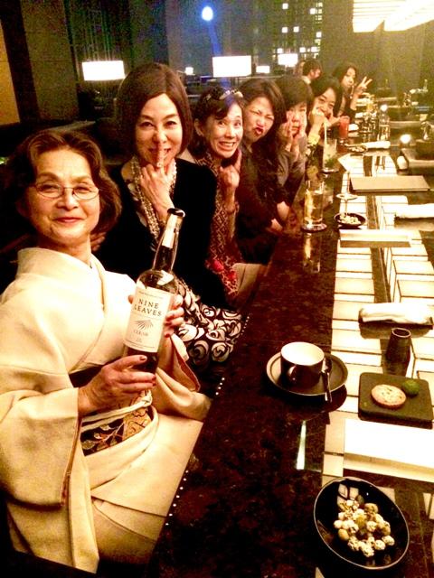 アマン東京・天空レストラン「ザ・レストランbyアマン」で乙女の宴_a0138976_1492685.jpg