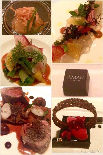 アマン東京・天空レストラン「ザ・レストランbyアマン」で乙女の宴_a0138976_1494874.jpg