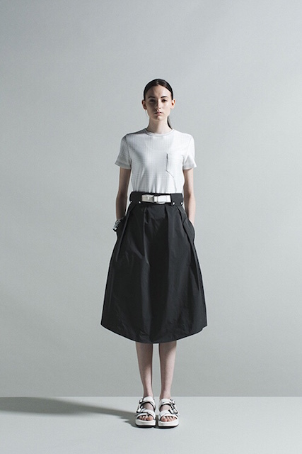 THE RERACS LONG TUCK SKIRT_f0111683_12535762.jpg