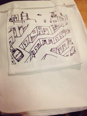 puzzle city ペタンコバッグとか…_e0060341_1384462.jpg