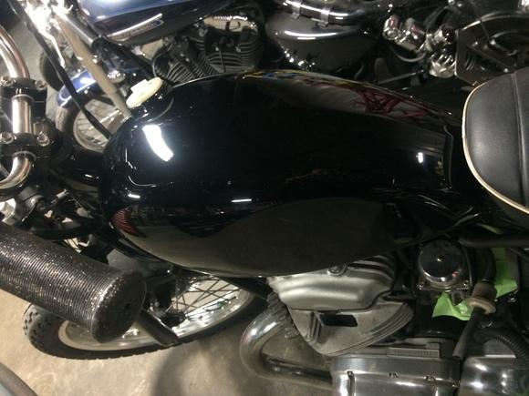 W650 コンプリートバイク_a0139843_22352354.jpg
