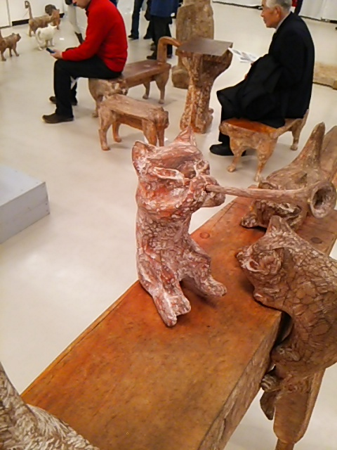 林先生の 動物彫刻展_f0114346_17245673.jpg