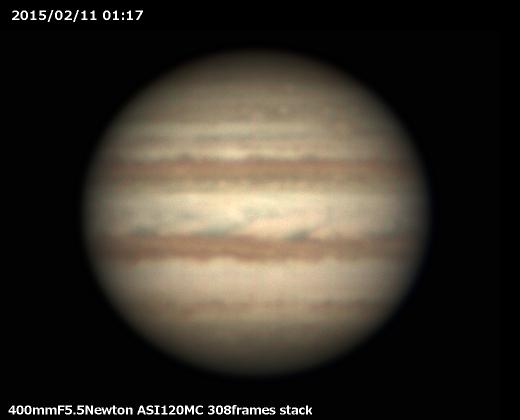 2月7日に木星が衝_a0095470_18523517.jpg