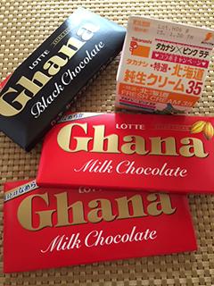 高級ウヰスキーで生チョコを作る_c0053520_2016953.jpg