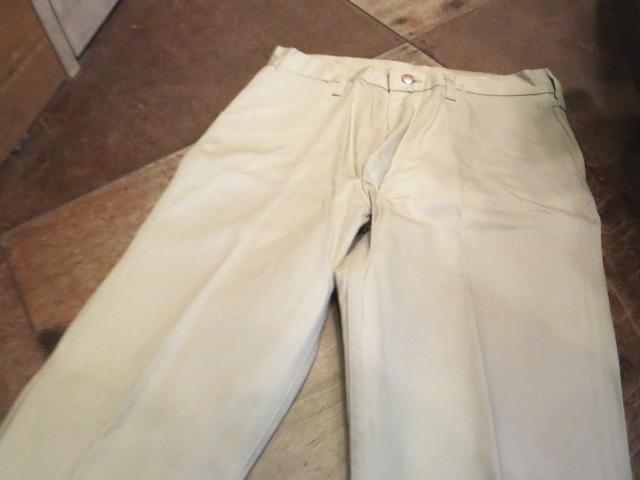 2/14(土)入荷!60'S デッドストック!all cotton Wrangler  ストレート ツイル 生成りパンツ!_c0144020_1839167.jpg