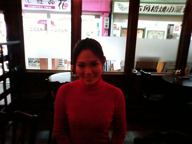 ミス・インターナショナル「クイーンオブコーヒー」チャンピオンがご来店!!_e0120837_1930197.jpg
