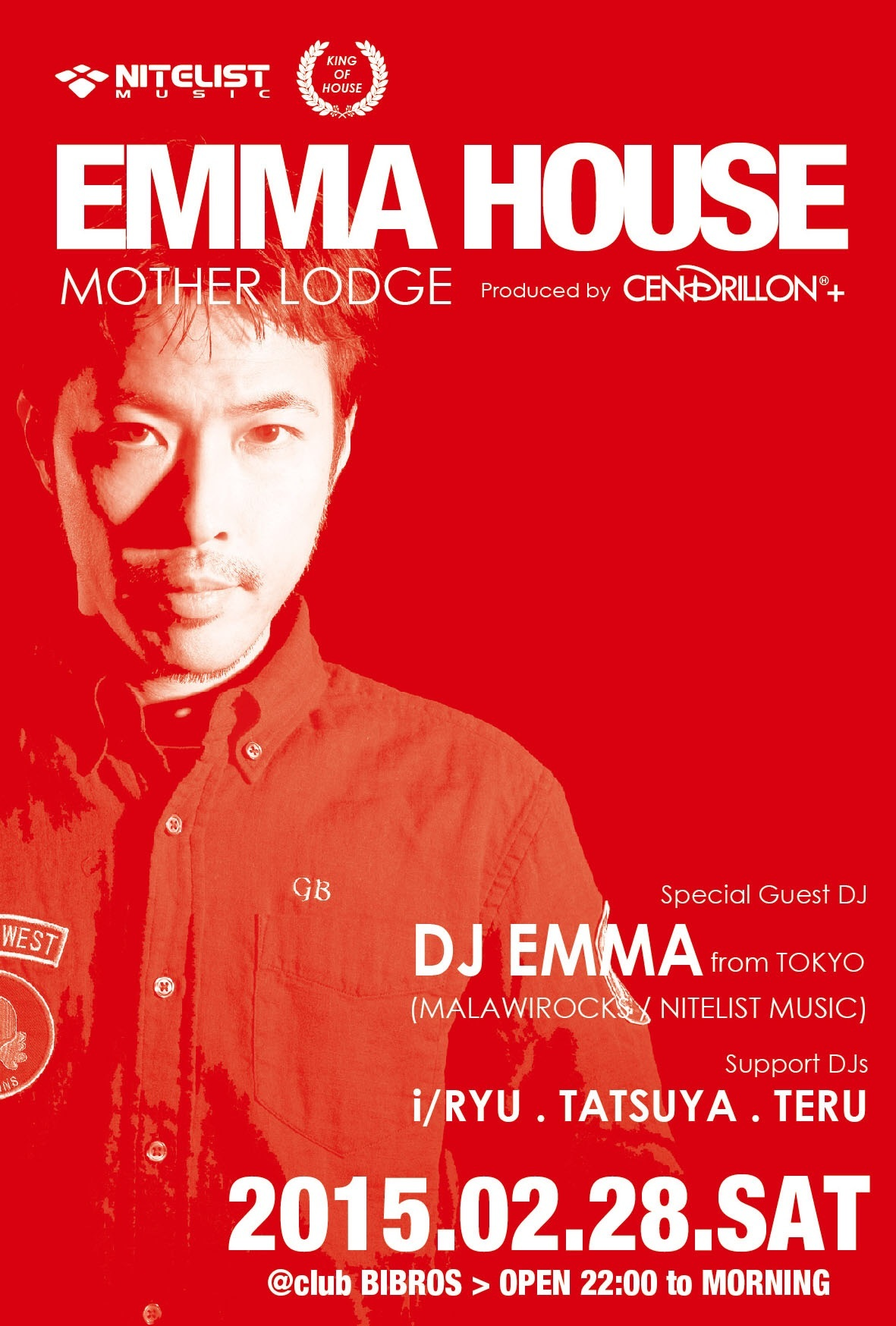 02.28.SAT 2015 - EMMA HOUSE ❌ Mother Lodge - @clubBIBROS_f0148146_11025241.jpg