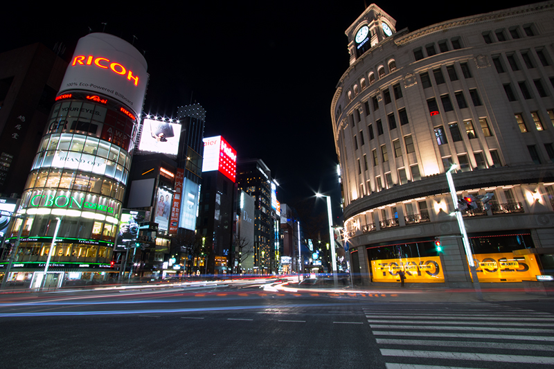 Hello from Tokyo 15 銀座_a0003650_23181179.jpg