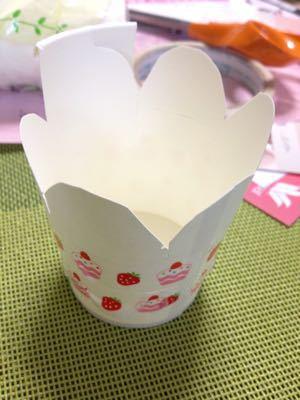 バレンタイン 手作りチョコを紙コップでラッピング!_e0086864_936767.jpg