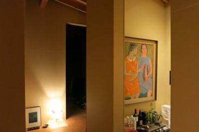建主の絵や暖簾や写真も素敵です。_d0021969_292393.jpg