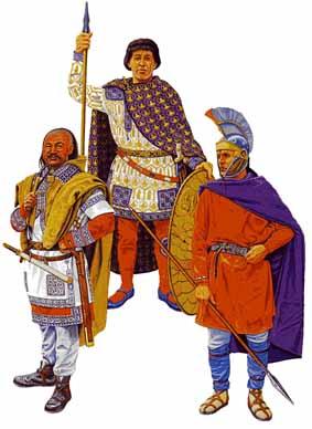 貝利薩留征戰記-德拉、卡利尼庫斯戰役_e0040579_115571.jpg